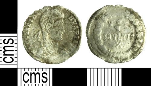 WILT-712E1E: Roman coin: siliqua of Julian