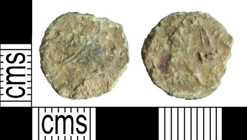 WILT-7BE6A2: Roman coin: Barbarous radiate