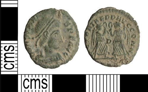 WILT-7C2C6C: Roman coin: Nummus of Constans`