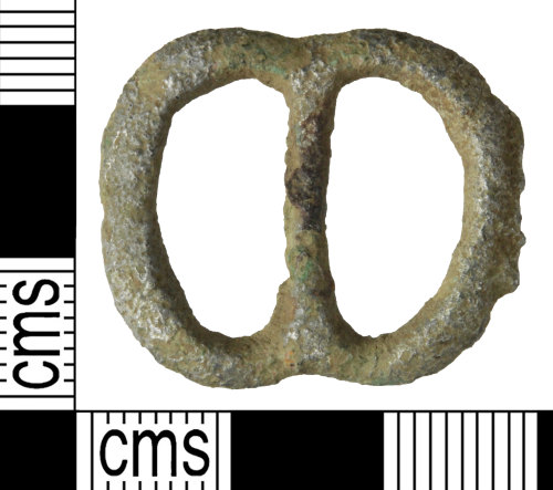 WILT-7D066E: Medieval to post-medieval buckle