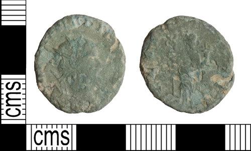 WILT-800FFC: Roman coin: Radiate of Claudius II