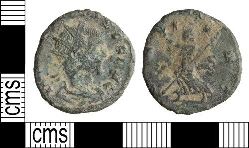 WILT-806AFE: Roman coin: Radiate of Claudius II
