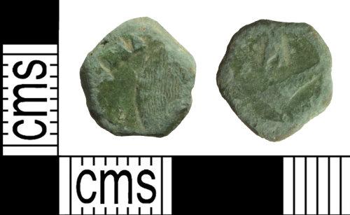 WILT-87C277: Roman coin: Nummus of Magnentius