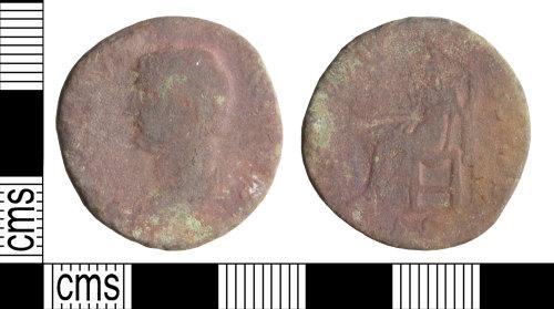 WILT-8C794D: Roman coin: As of Hadrian