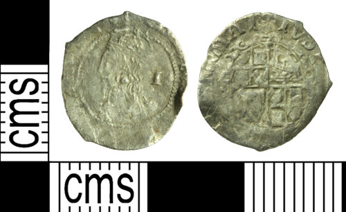 WILT-8C9C24: Post-medieval coin: Penny of Charles I