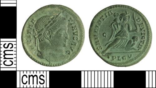 WILT-8EABA9: Roman coin: Nummus of Constantine I