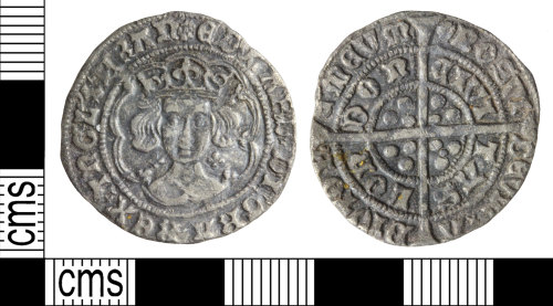 WILT-920308: Medieval coin: Groat of Edward IV