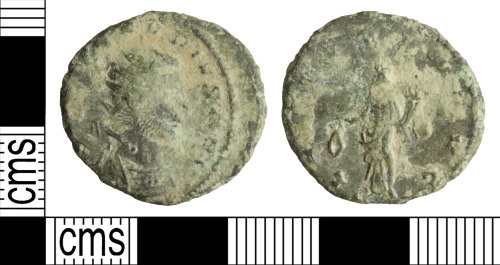 WILT-99A0A3: Roman coin: Radiate of Claudius II