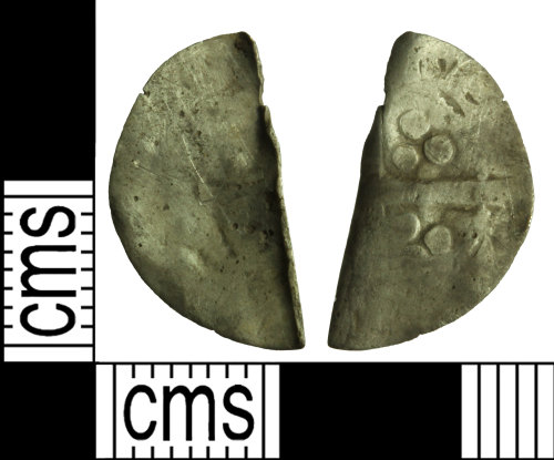 WILT-9D44C1: MEdieval coin: Penny of uncertain ruler