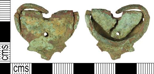 WILT-A83784: Post-medieval shoe buckle
