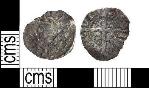 WILT-B320EA: Medieval coin: Halfpenny of Robert II