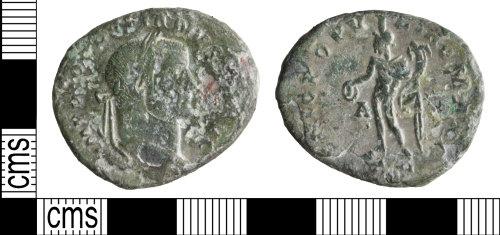 WILT-BD6C4D: Roman coin: Nummus of Diocletian