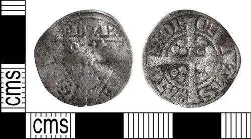 WILT-D04E5D: Medieval coin: Irish penny of Edward I