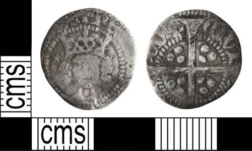 WILT-D1238A: Medieval coin: Penny of Henry Iv