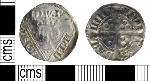 WILT-ECB83E: Medieval coin: Penny of Edward I