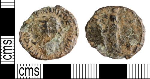 WILT-F6DED1: ROman coin: Radiate of Trajan Decius