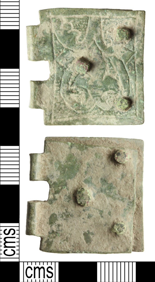 WILT-F72346: Medieval buckle plate