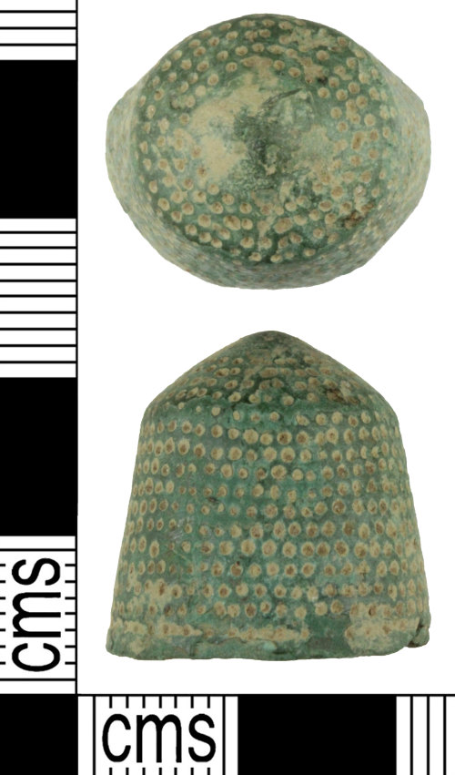 WILT-F7ACDE: Medieval thimble