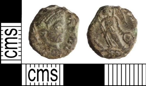 WILT-F890F4: Roman coin: Nummus of the House of Constantine