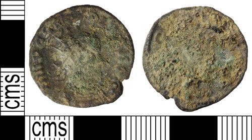 WILT-FE4BD2: Roman coin: Radiate of Claudius II
