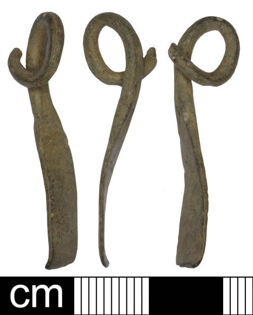 SOM-6F0724: Iron age brooch
