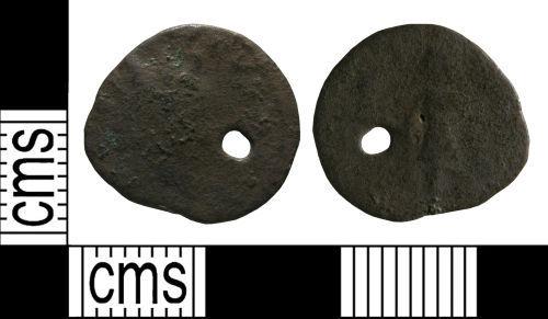 WMID-4F4E55: Roman coin: Radiate of uncertain emperor