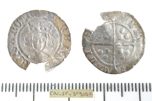SF-DF90DC: Medieval coin: penny of Henry VI.
