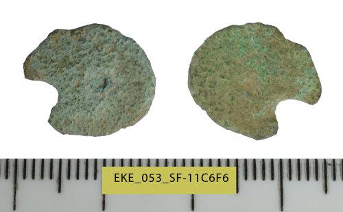 SF-11C6F6: Roman coin: Barbarous radiate, copying uncertain ruler
