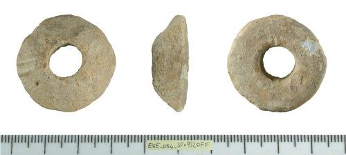 SF-9320FF: Medieval to Post medieval spindle whorl