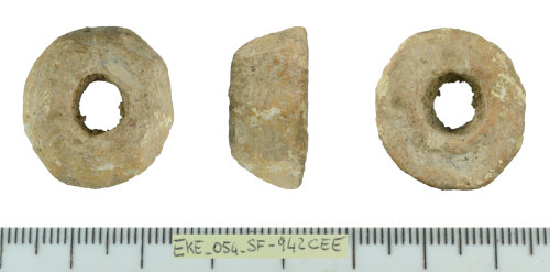 SF-942CEE: Medieval spindle whorl (probably)