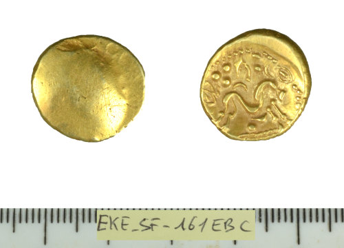 SF-161EBC: Belgic coin: stater of the Ambiani.
