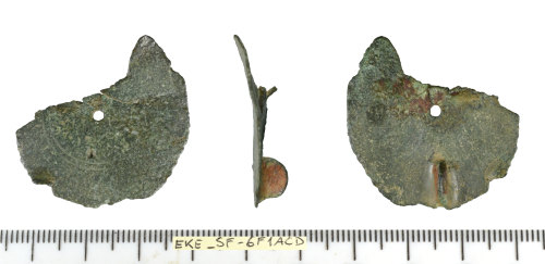 SF-6F1ACD: Early Medieval (Anglo-Saxon) disco brooch