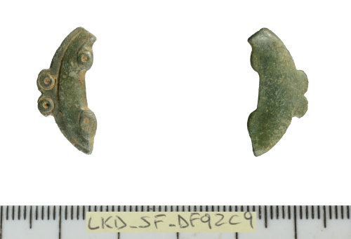 SF-DF92C9: Roman strap fitting (possibly)