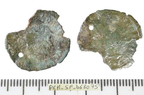 SF-D6B075: Roman coin: nummus of an unclear emperor.