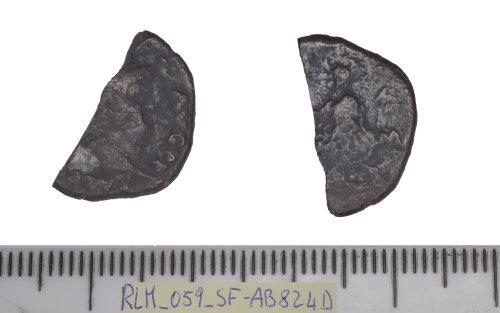 SF-AB824D: Roman coin: denarius of Nero