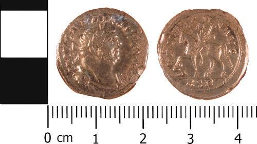 WMID-2C5A44: Roman Coin: Denarius of Carausius