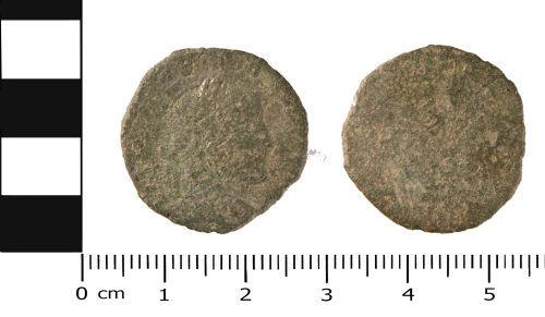 WMID-BC2367: Roman Coin: Nummus of 4th century Emperor