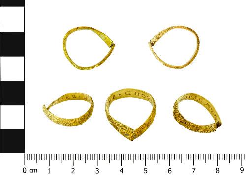 BERK-12895D: Posy Ring