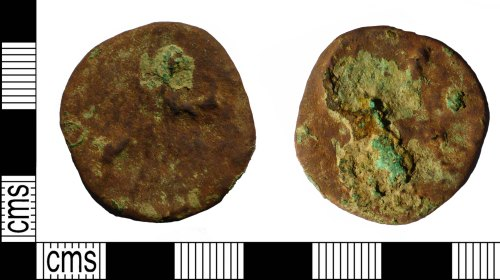 PUBLIC-BBA37A: PUBLIC-BBA37A Roman coin, sestertius of an unknown Emperor