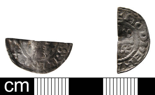 WAW-A11502: Medieval coin: Penny of Henry II