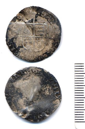 BUC-C6C604: Post-Medieval Coin : Groat of Mary I