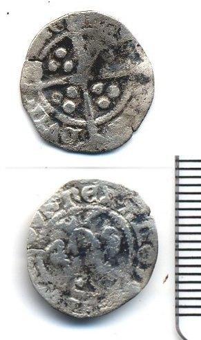 BUC-EBB198: Penny of Edward III 1352-3