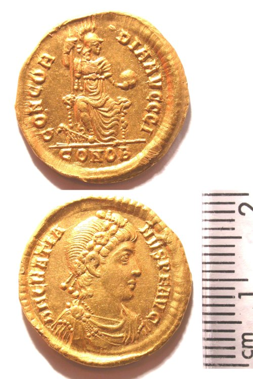 BUC-F59BB6: Roman Gold solidus of Gratian