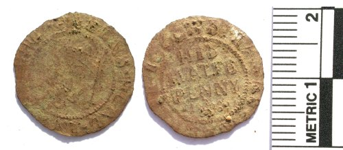 BUC-5A5F71: Post medieval trade token