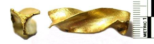 BUC-EF04B8: Bronze Age gold torc/bracelet