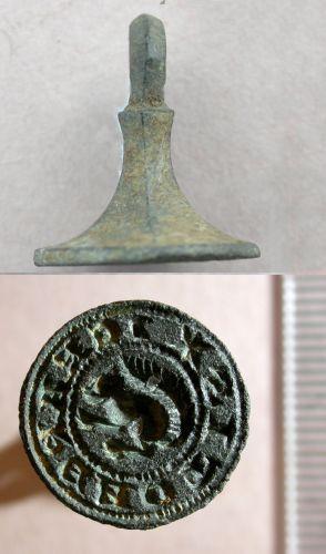 BUC-BD1FA4: Medieval Seal Matrix