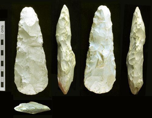 HAMP-008852: Neolithic flint axe