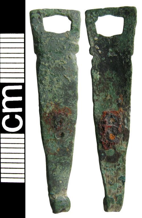 HAMP-129951: Medieval/post-medieval strap-fitting