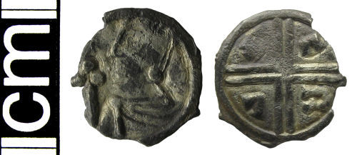 HAMP-14EC75: Early-medieval coin: Penny of Aethelred II