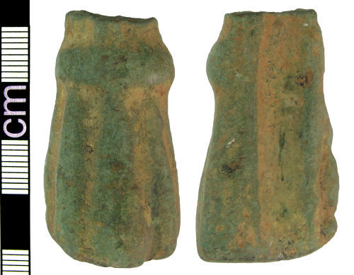 A resized image of Medieval/post-medieval cooking vessel foot